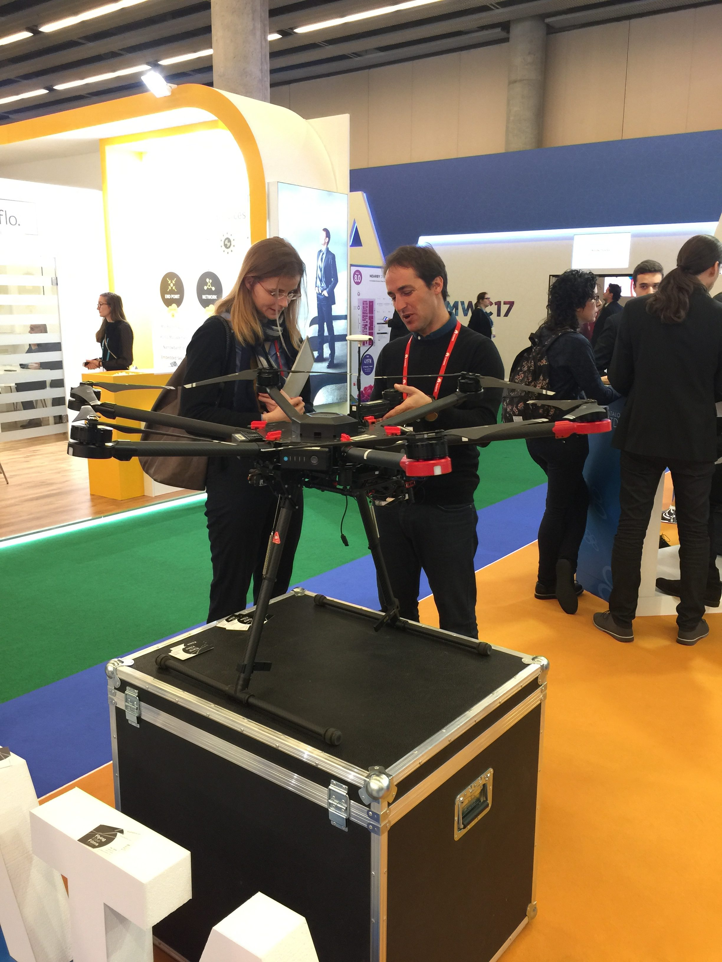 drones-at-mobile-world-congress