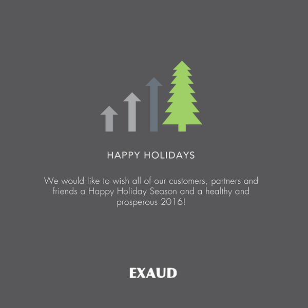 Happy Holidays from Exaud