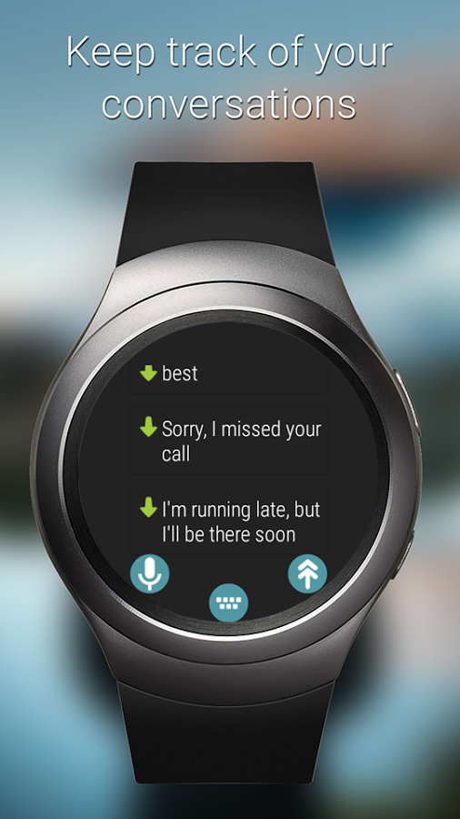 TypeIt Wear Sms With Custom Replies
