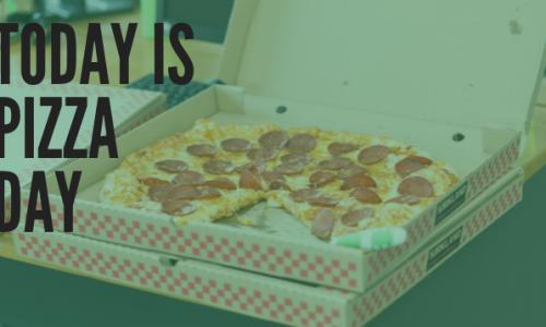 weekly meeting pizza